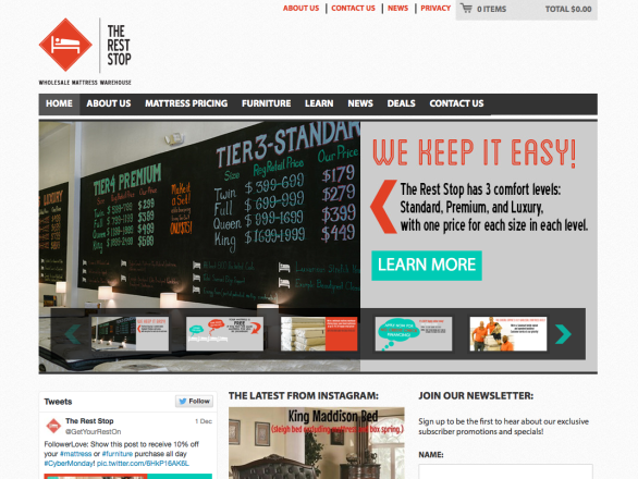 The Rest Stop Website